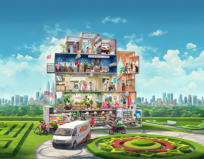 Eco World Anak Anak Malaysia 2021 Campaign Visual