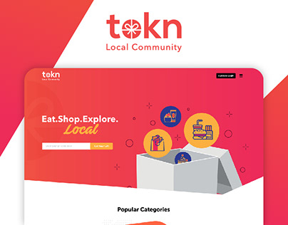 Token Local Community Website
