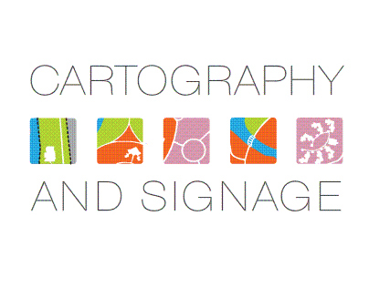 Cartography and signage: User behavior intreaction