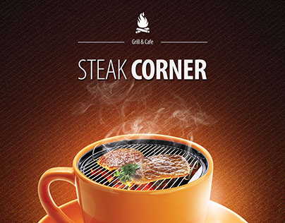 Steak Corner Ad