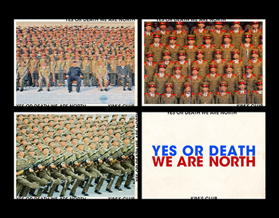 YES OR DEATH, WE ARE NORTH