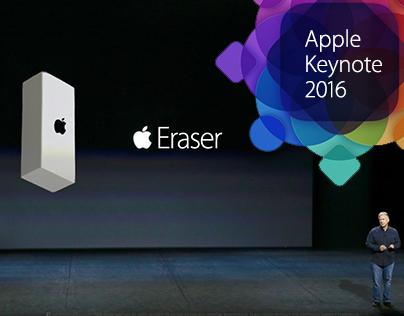 Apple Event 2016 - The Apple Geometry Set