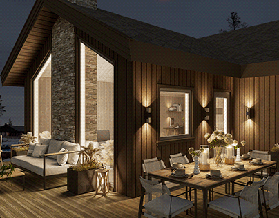 Mountain Cottage 3D Visualisation!