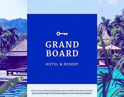 Grand Board - Branding design with Artboard Studio