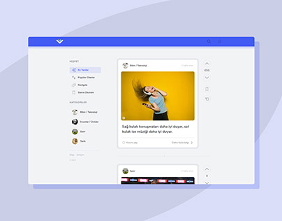 WTFact Blog Design
