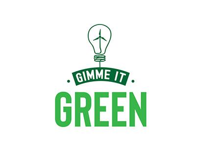 Gimme It Green Logo Design