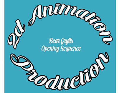 2D Animation Opening Sequence