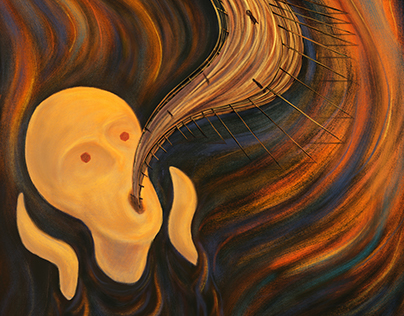 The Scream of Nature no. 5 #MunchContest