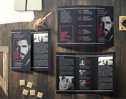 Brochure Design - Tri Fold Business Brochure