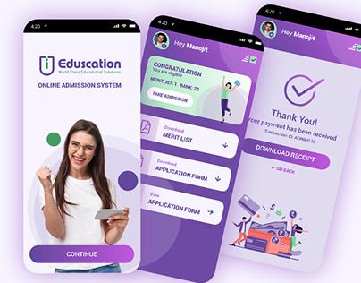 Online Admission System- Mobile Apps