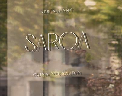 Saroa Restaurant. Kitchen to enjoy