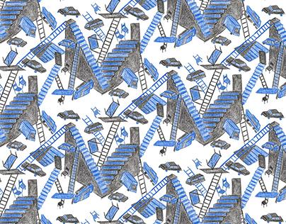 caos | pattern & illustration
