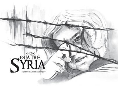 Syria children portrait