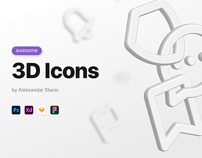 Awesome 3D Icons