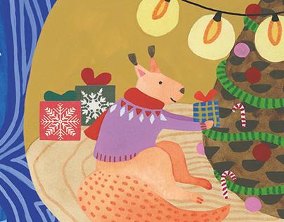 Seasonal greeting cards