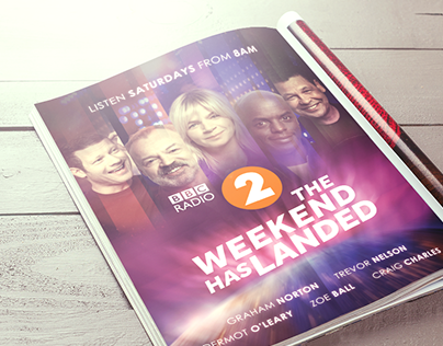 BBC Radio 2 - The Weekend has Landed
