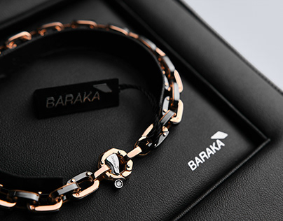 Men's Bracelet BARAKA BR271091ROCN