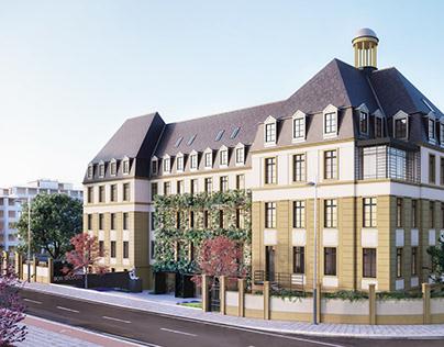 Perspective de concours Hôpital Bon Secours, Metz