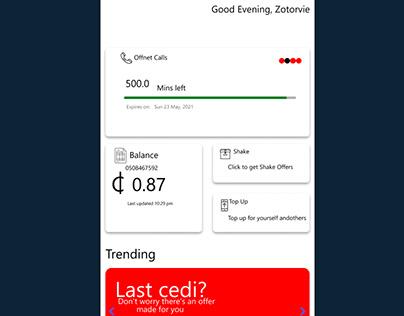 My Vodafone App Ghana - Replica