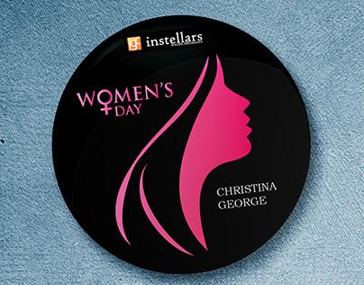 International Women's Day | Branding | Button Badges