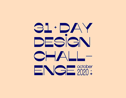 DAILY DESIGN CHALLENGE October 2020