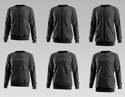 3D interactive Configurator Project: Sweatshirt PowPorn