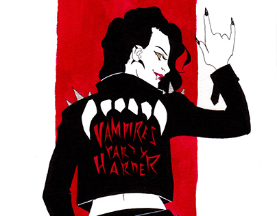 Vampires party harder