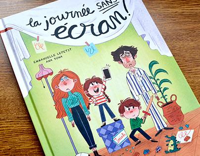 La journée sans écran! - Picture book
