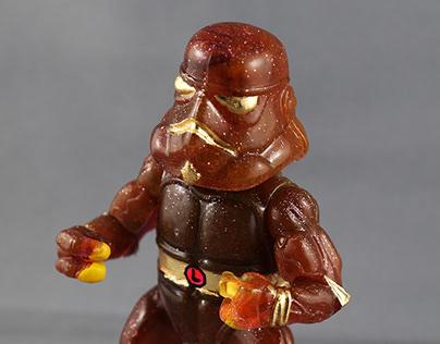 Turtle Wars Bootleg Resin Toys
