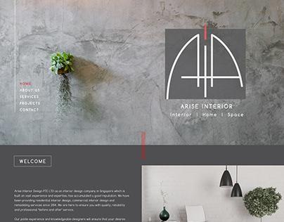 Arise Interior Website