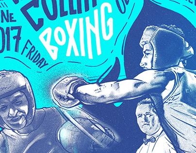 El Matador. White Collar Boxing Poster