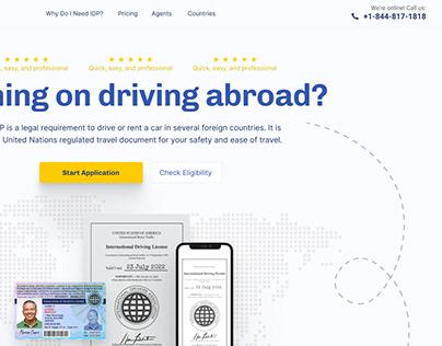 International Permit Landing Page