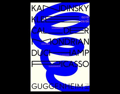 Guggenheim Visionaries / Exhibition Branding