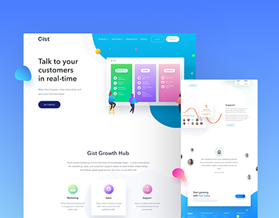 Gist Website Design