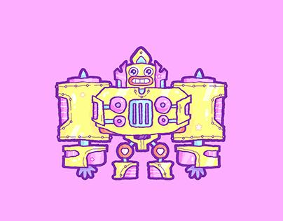 Robot (°ロ°)☝