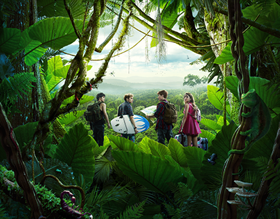DISNEY JUNGLE NEST - PHOTO MANIPULATION