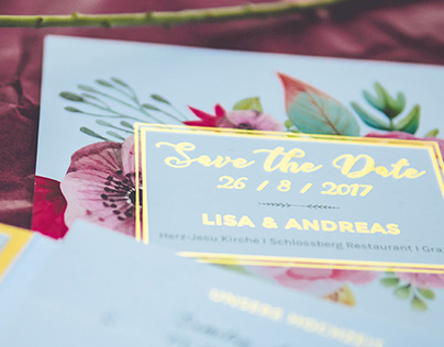 Wedding Design – Lisa & Andreas