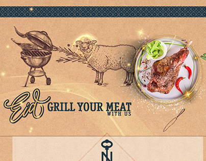 Eid grill your meat with us