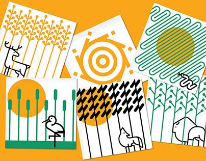 Animals of Bieszczady - posters