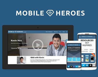 Mobile Heroes [Branding + Web]