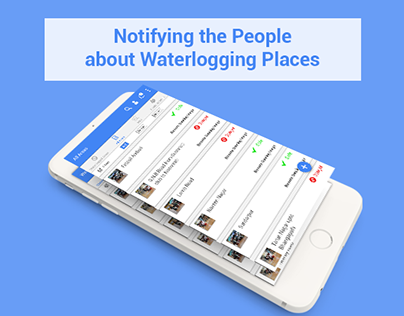 Notifying the People about Waterlogging Places