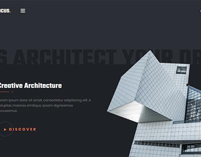 Website Design: Architecture & Interior Design Agency