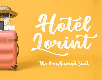 Hotel Lorint - Brush Script -