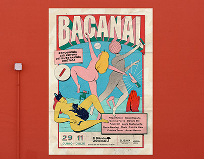 -BACANAL- POSTER ILLUSTRATION