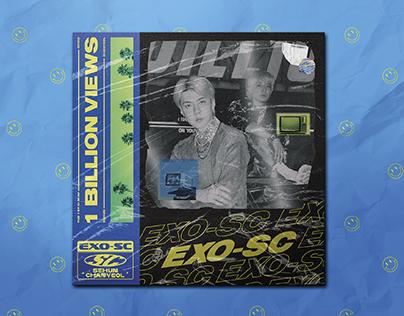EXO-SC, '1 Billion Views' - Fanmade Album Cover