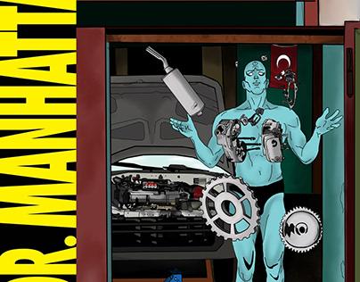 Watchmen in Turkey: Dr.Manhattan