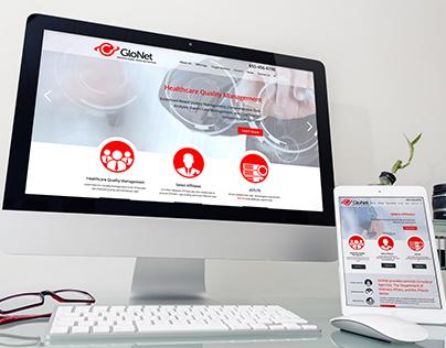 GloNet Website and Branding