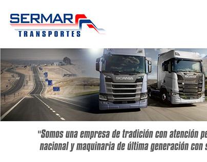Diseño Lienzo Transportes Sermar