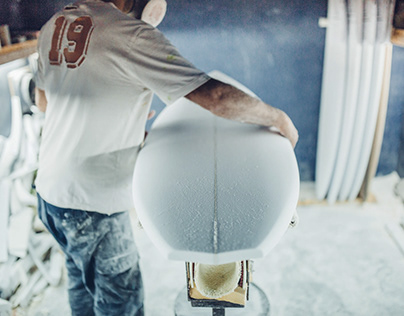shaping custom handcrafted Surfboards