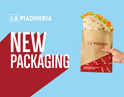 New Packaging | La Piadineria